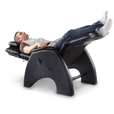 tony little 174 anti gravity massage recliner chair