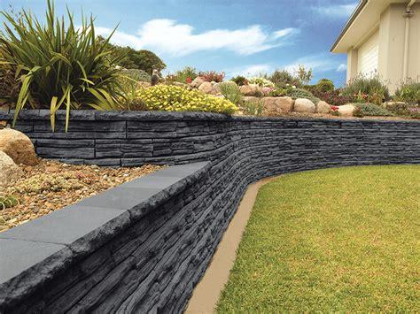 retaining garden wall ideas garden ideas with retaining wall realestate au