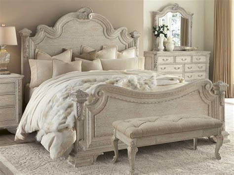 renaissance bedroom furniture a r t furniture renaissance estate panel bedroom set