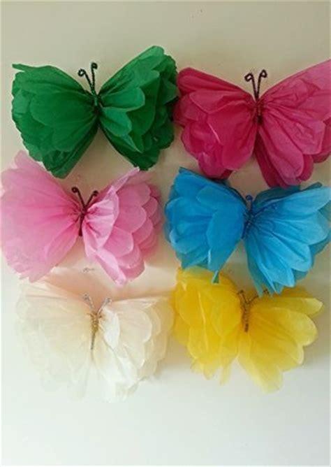 tissue paper butterfly craft tissue paper butterflies animals vbs