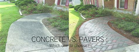 concrete patio vs pavers concrete vs pavers patio concrete vs pavers which one to