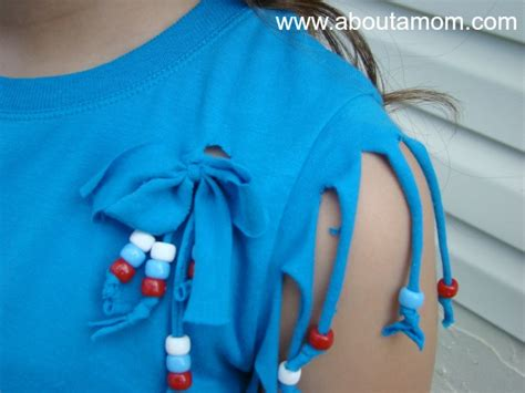 how to fringe and bead a shirt pony beaded t shirt craft about a