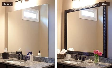 do it yourself framing a bathroom mirror framing a bathroom mirror diy image bathroom 2017