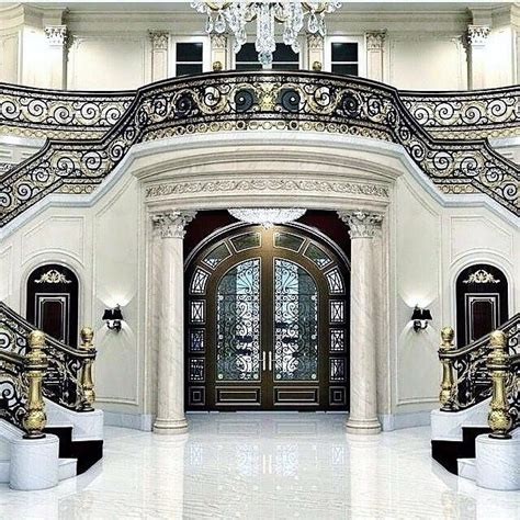 interior luxury homes best 25 grand entrance ideas on grand foyer