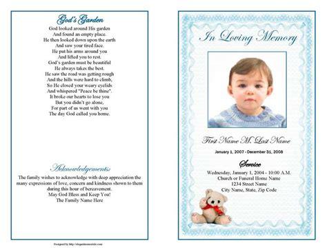 make your own memorial cards free create funeral program template free programs utilities