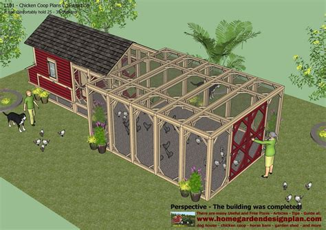 garden home house plans hens plans how to build a chicken coop for 20