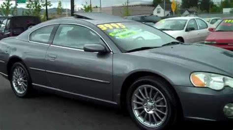 2003 Chrysler Sebring For Sale by 2003 Chrysler Sebring Lxi Coupe Sold