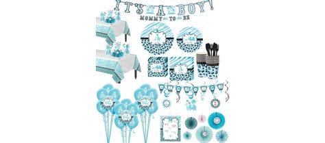 Safari Blue Baby Shower City by Blue Safari Baby Shower Supplies City