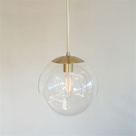 mid century modern pendant lights mid century modern 10 globe pendant light clear glass