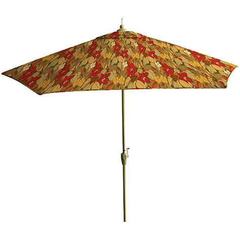 floral market umbrella 9 patio outdoor decor