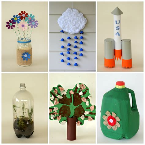 recycled craft ideas for 6 earth day crafts from recycled materials 183 kix cereal