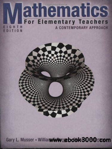 mathematics for elementary teachers with activities 5th edition mathematics classrooms students activities and teachers
