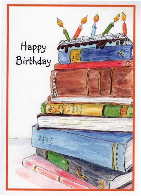 birthday picture books birthday book cake stack of books candles birthday cake