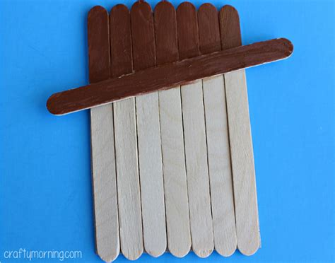 popsicle stick craft for popsicle stick scarecrow small big dreams