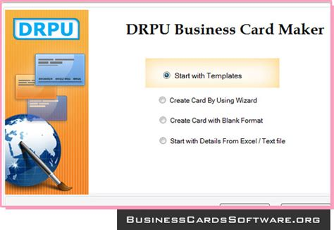 programs to make business cards business card software design discount visiting marketing