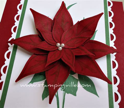 poinsettia paper craft how to make a paper poinsettia