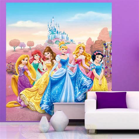 Childrens Large Wall Stickers childrens bedroom disney amp character wallpaper wall mural