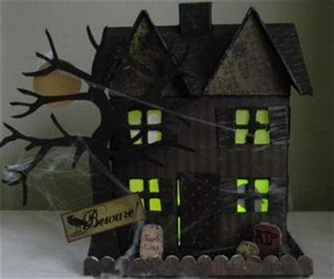 haunted house crafts for side of the net and links new