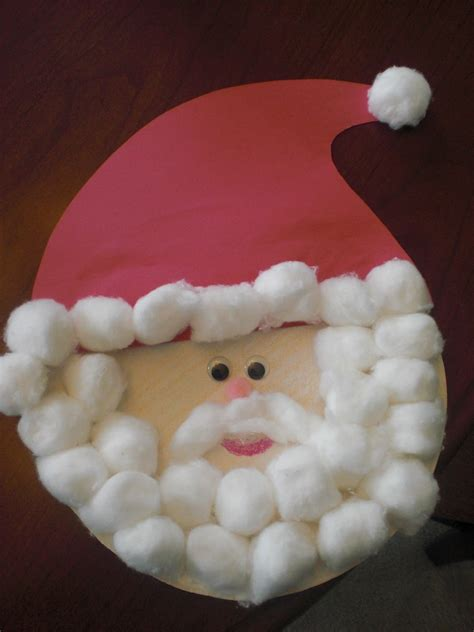 Because I Said So And Other Mommyisms Paper Plate Santa