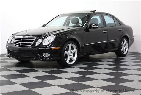 2009 Mercedes E350 4matic 2009 used mercedes e350 4matic amg sport at