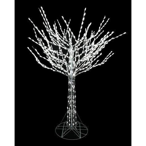 tree in white 8 ft bare branch tree in white 4407463w 18uho the home