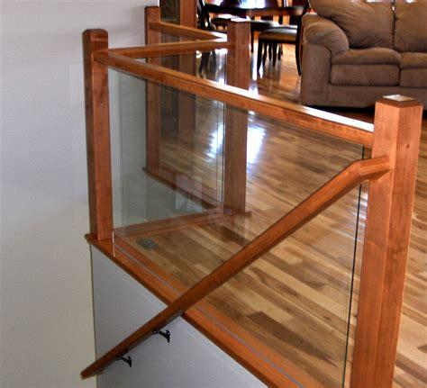 ford metro glass deck railing interior railing and