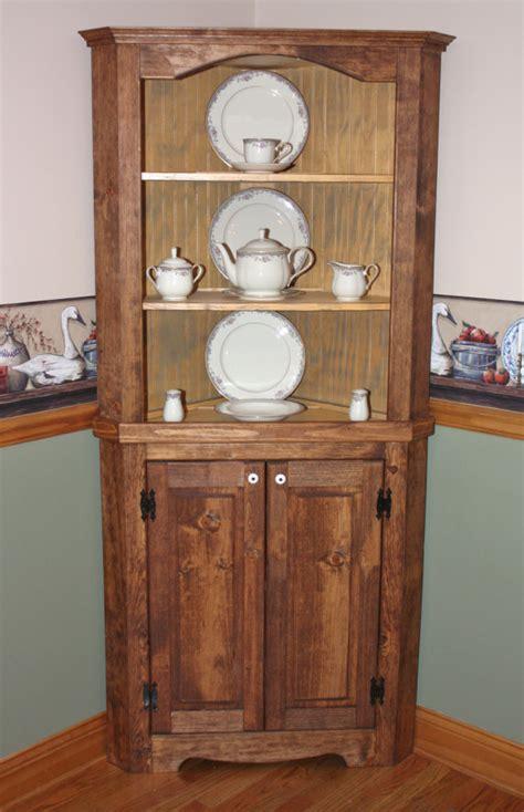 rustic china cabinet hutch curio corner rustic primitive china by redbudprimitives