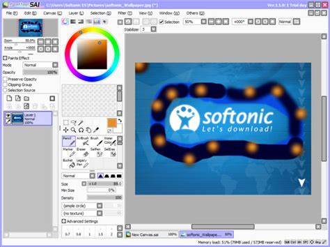 paint tool sai free version windows 8 desenhar softonic