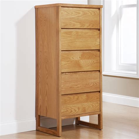 wood bedroom dressers tallboy chest 5 drawer solid oak wood bedroom