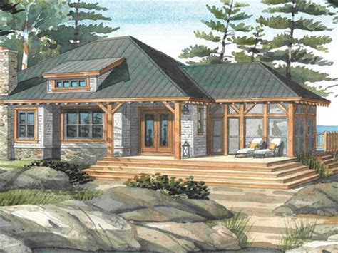 small lakefront house plans cottage home design plans small retirement home plans