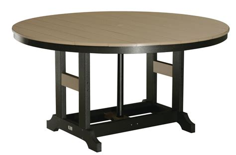 bar height dining table 60 quot dining tables bar height