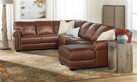 sectional leather sofas with chaise softline o neal leather sectional sofa with chaise the