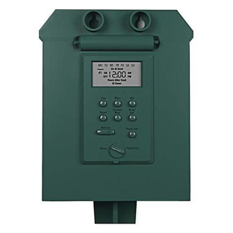 outdoor light timer outdoor light timers home design