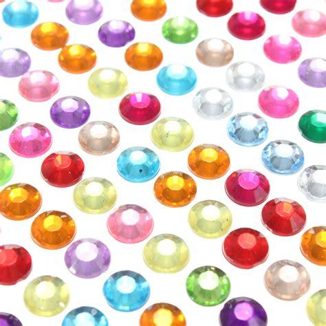 self adhesive gems for card 6mm self adhesive rhinestones stick on