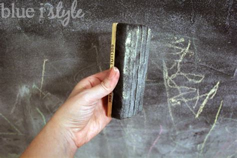 chalk paint eraser five minute friday how to get your chalkboard wall back