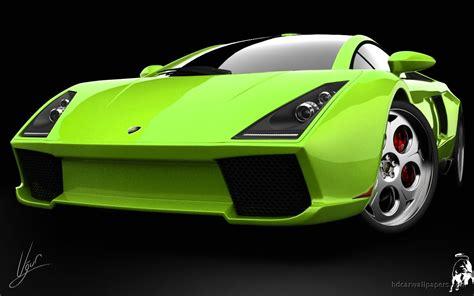 Car Wallpaper Green by Lamborghini Green Concept Wallpaper Cars Hd Desktop Wallpapers