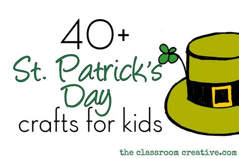 st patricks day kid crafts st s day craft ideas for