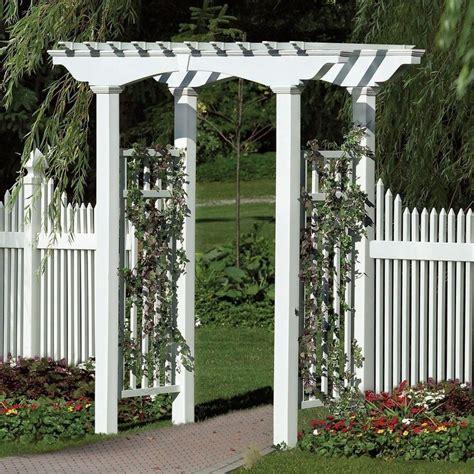White Garden Arch Uk New Arbors Decorative Newport White Vinyl Garden