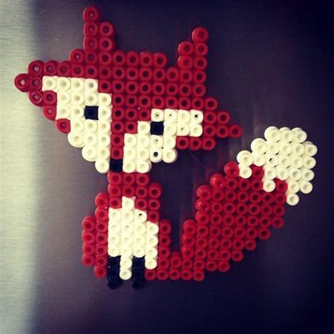 perler bead fox fox hama by mariejager perler