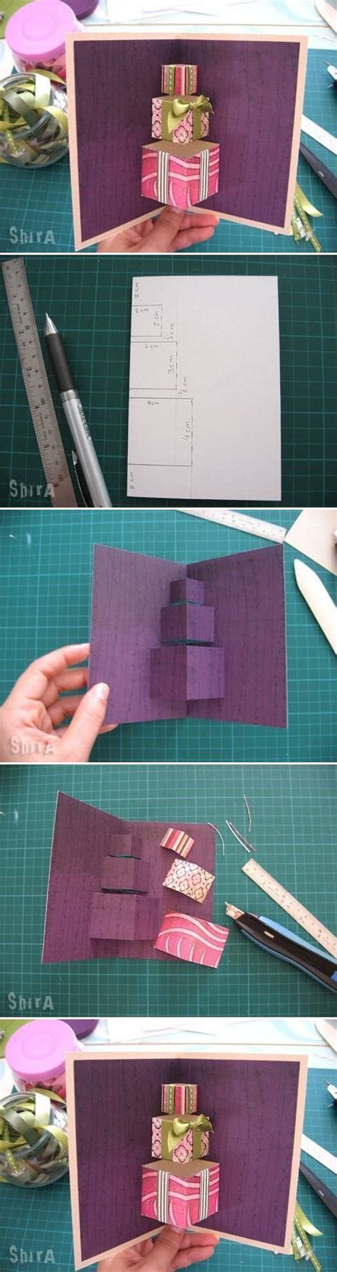 make gift card how to make simple 3d gift card step by step diy tutorial