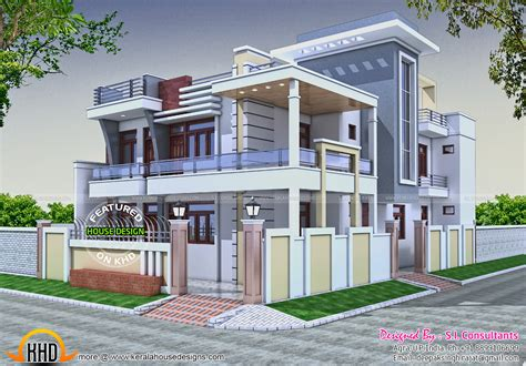 home design for in india 36x62 decorative modern house in india kerala home
