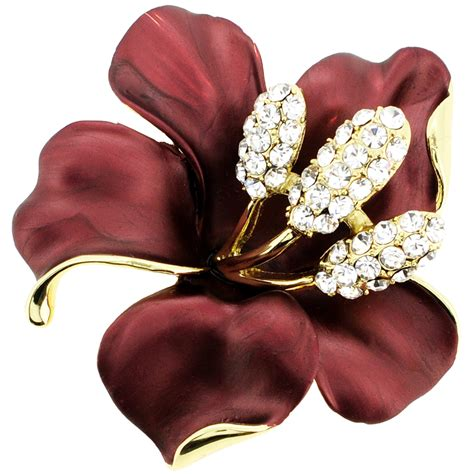 jewelry pins hawaiian hibiscus flower pin brooch and pendant