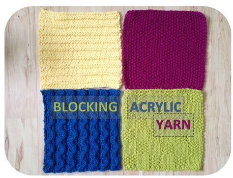 blocking in knitting tutorial blocking acrylic yarn a modicum of ingenuity