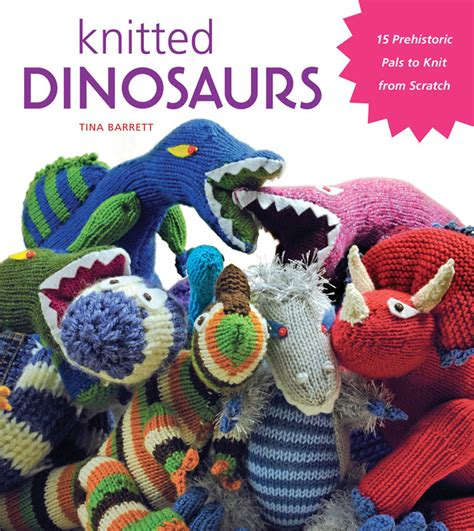 knit a dinosaur just crafty enough knitted dinosaurs giveaway
