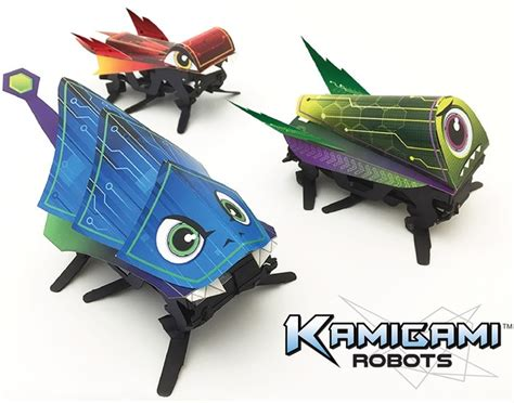 origami robots kamigami origami robots can be controlled by your