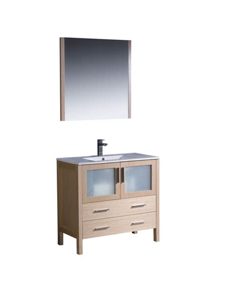 36 single sink bathroom vanity 36 inch single sink bathroom vanity in light oak