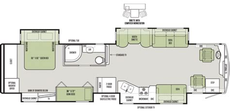 Fleetwood Terry Travel Trailer Floor Plans 12 must see rv bunkhouse floorplans general rv center
