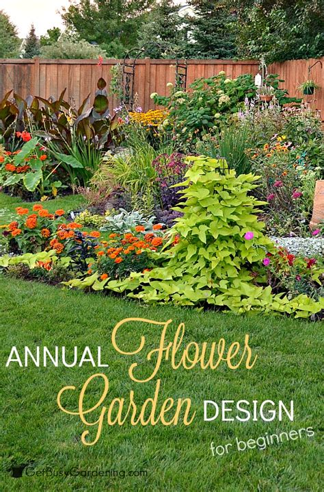 flower garden for beginners annual flower garden design for beginners
