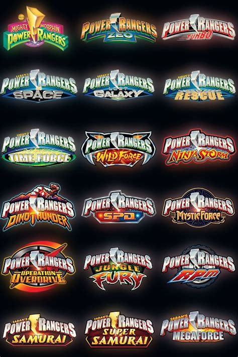 all the power rangers tv seasons i i m 16 and i don t care but i still these