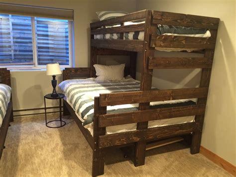 xl bunk bed frame xl bunk bed frame 28 images xl trundle bed frame